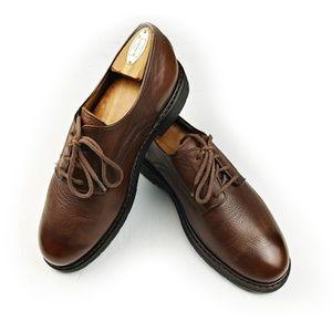 Mephisto Marlon Brown Leather Derby Shoe Sz 9 $400